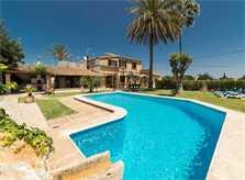 Poolblick 5 Finca Mallorca Pollensa für 6 Personen PM 3886