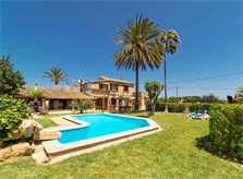 Poolblick 6 Finca Mallorca Pollensa für 6 Personen PM 3886
