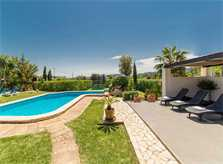 Poolblick 3 Finca Mallorca Pollensa für 6 Personen PM 3886