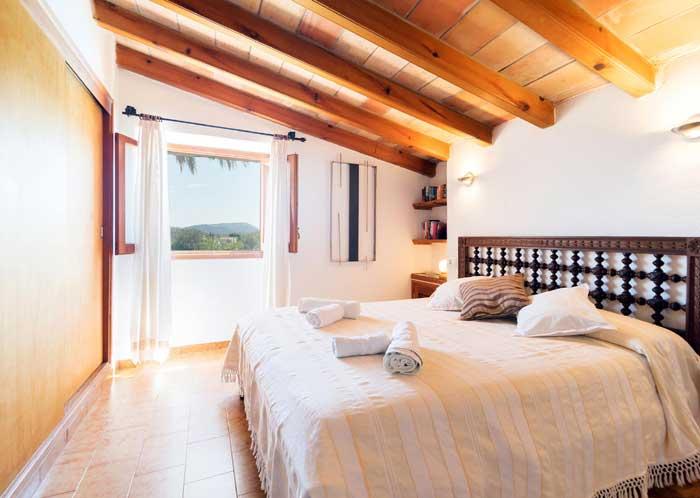 Schlafzimmer 4 Finca Mallorca mit Pool für 6 Personen PM 3886