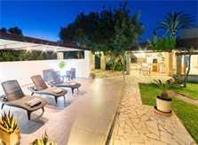 Terrasse 2 Finca Mallorca mit Pool für 6 Personen PM 3886