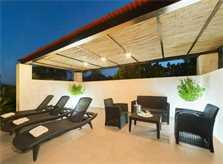 Terrasse 3 Finca Mallorca mit Pool für 6 Personen PM 3886