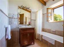 Badezimmer Finca Mallorca mit Pool Pollensa PM 392