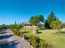 Blick auf die Finca Mallorca mit Pool Pollensa PM 392