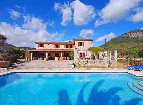 Pool und Finca Mallorca 10 Personen PM 399