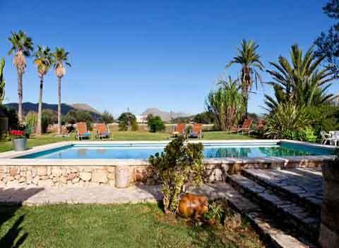 Pool und Berge Finca Mallorca 12 Personen PM 3992