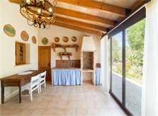 Aussenküche Finca Mallorca 8 Personen PM 3993