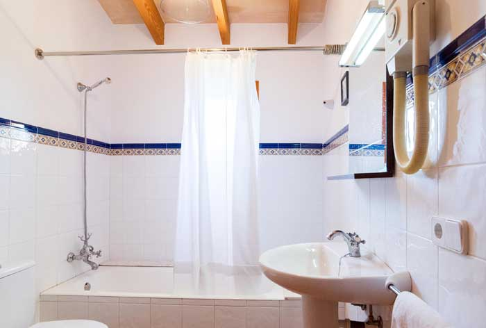 Bad en suite Finca Mallorca 8 Personen PM 3993