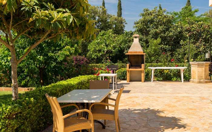 Barbecue Finca Mallorca 8 Personen PM 3993