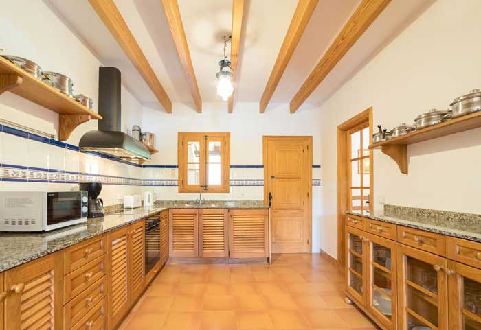 Küche Finca Mallorca 8 Personen PM 3993