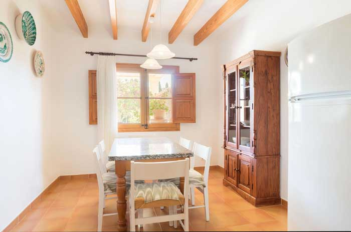 Küche 3 Finca Mallorca 8 Personen PM 3993