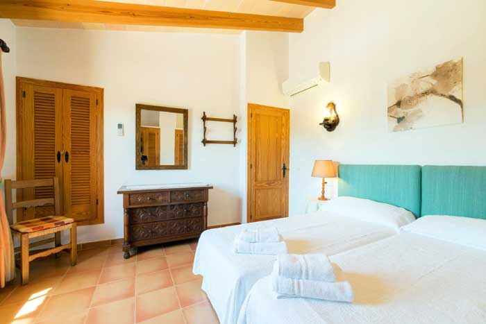 Schlafzimmer 5 Finca Mallorca 8 Personen PM 3993