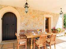 Terrasse 2 Finca Mallorca 8 Personen PM 3993