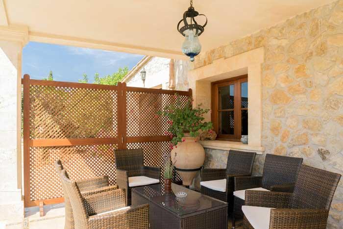 Terrasse 3 Finca Mallorca mit Pool PM 3993