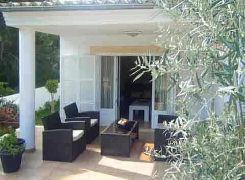 Terrasse Ferienhaus Mallorca Norden 6 Personen PM 466