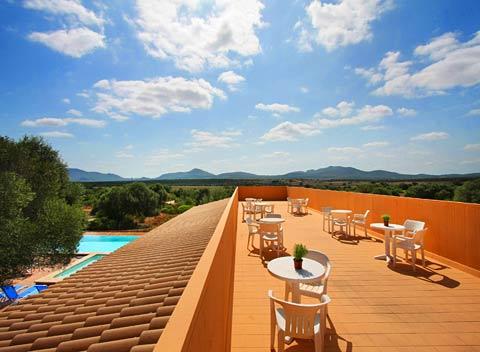 Dachterrasse Finca Mallorca PM 522