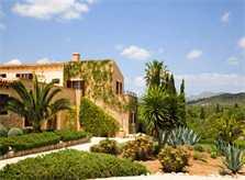 Blick auf die Exklusive Finca Mallorca mit Pool PM 530
