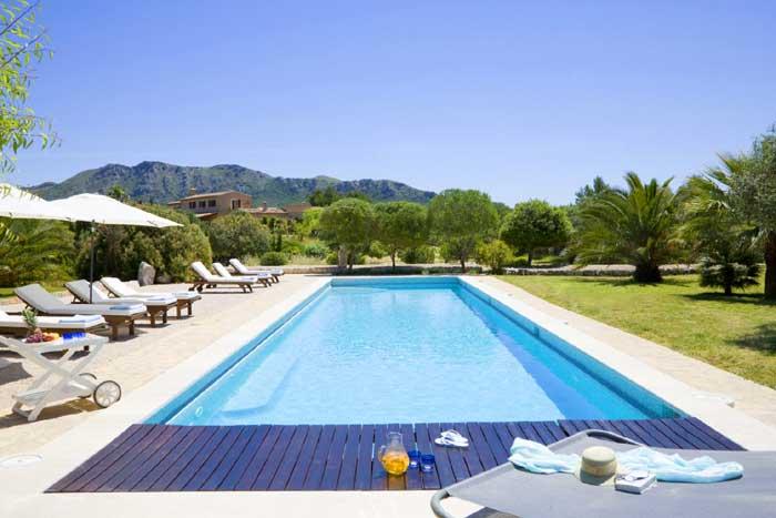Poolblick 2 Exklusive Finca Mallorca PM 530