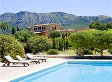 Blick auf den großen Pool Exklusive Finca Mallorca PM 530