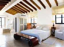 Schlafzimmer Luxus Finca Mallorca mit Pool PM 530