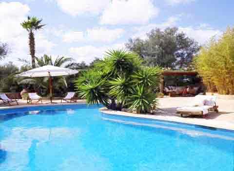 Poolblick Exklusive Finca Mallorca 10 Personen PM 534