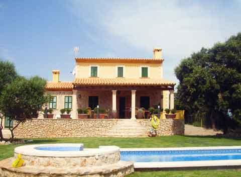 Poolblick Finca Mallorca Arta 8 - 14 Personen PM 5375