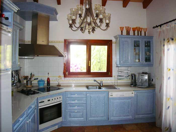 Küche Finca Mallorca PM 538 Exklusive Finca 8 Personen Capdepera