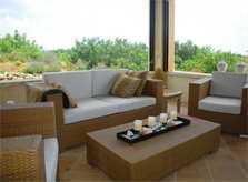 Lounge Möblierung Terrasse Finca Mallorca PM 538 Exklusive Finca 8 Personen Capdepera