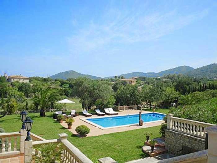 Pool und Garten Finca Mallorca PM 538 Exklusive Finca 8 Personen Capdepera