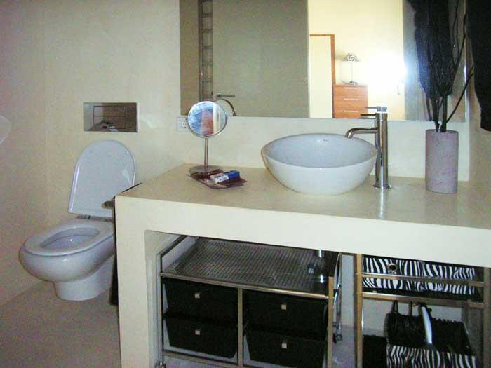 Badezimmer Finca Mallorca mit Pool für 8 - 10 Personen PM 5397