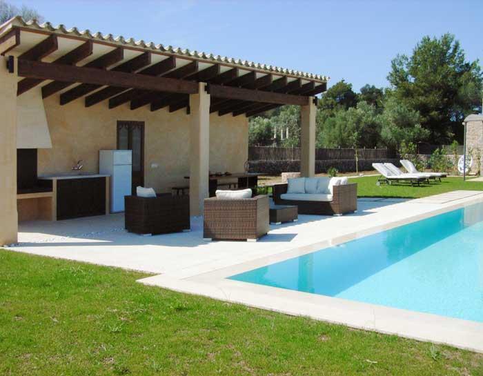 Barbecue Finca Mallorca mit Pool für 8 - 10 Personen PM 5397