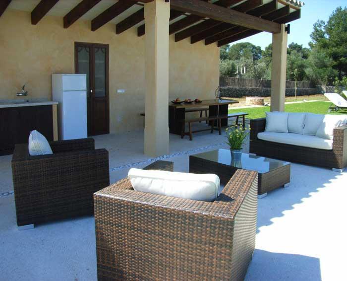 Lounge Finca Mallorca mit Pool für 8 - 10 Personen PM 5397
