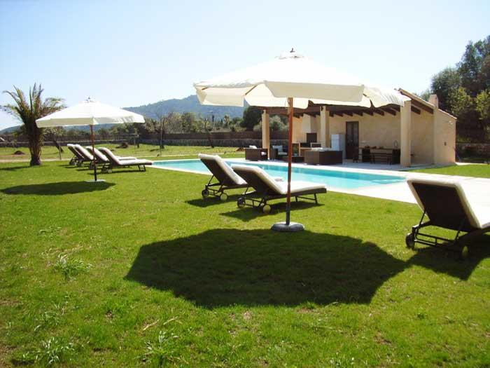 Poolhaus Finca Mallorca mit Pool für 8 - 10 Personen PM 5397