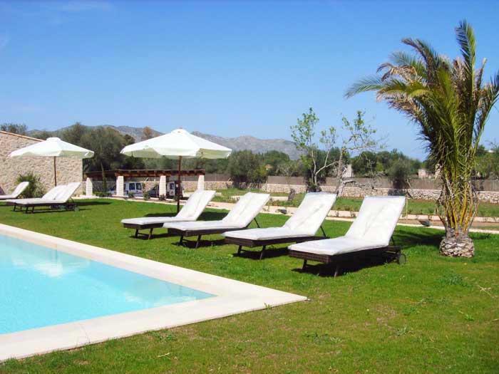 Pool Finca Mallorca mit Pool für 8 - 10 Personen PM 5397