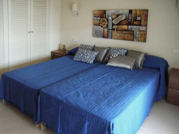 Schlafzimmer 2 Finca Mallorca mit Pool für 8 - 10 Personen PM 5397