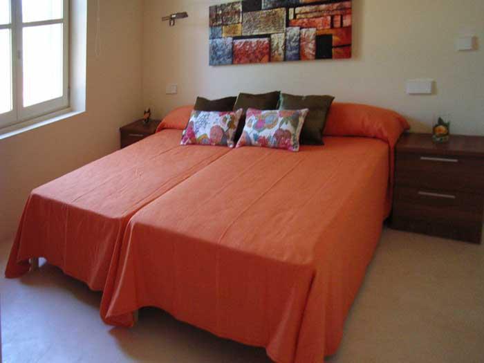 Schlafzimmer C Finca Mallorca mit Pool für 8 - 10 Personen PM 5397