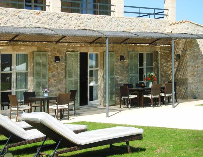 Terrasse 3 Finca Mallorca mit Pool für 8 - 10 Personen PM 5397