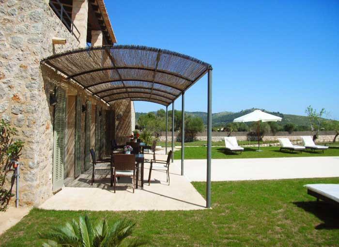 Terrasse 2 Finca Mallorca mit Pool für 8 - 10 Personen PM 5397