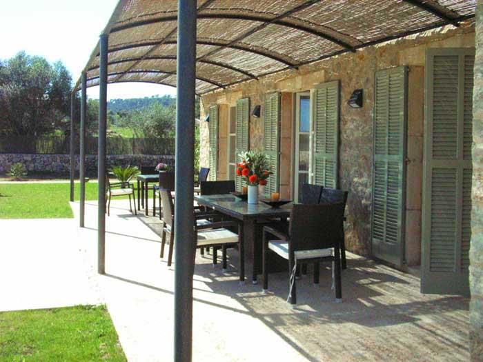 Terrasse Finca Mallorca mit Pool für 8 - 10 Personen PM 5397