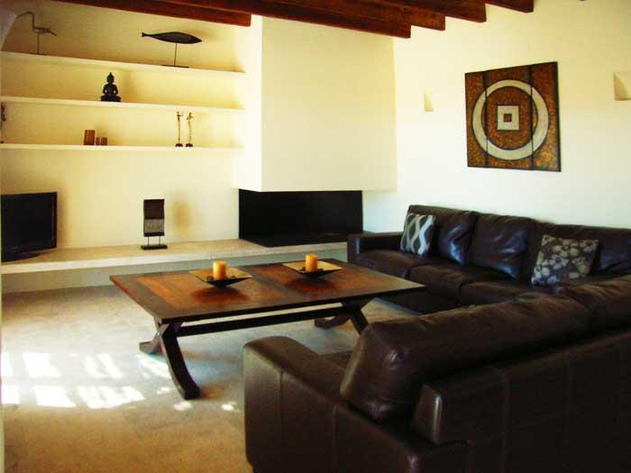 Wohnraum Finca Mallorca mit Pool für 8 - 10 Personen PM 5397
