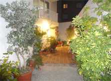 Bepflanzter Eingangsbereich Ferienwohnung Cala Ratjada 2 - 4 Personen PM 545 A