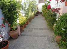 Innenhof Ferienwohnung Cala Ratjada 2 - 4 Personen PM 545 A