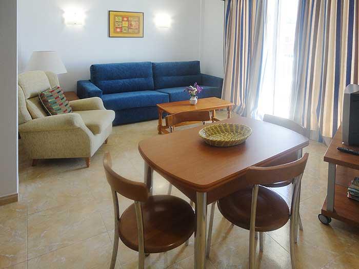 Wohnraum Ferienwohnung Cala Ratjada 2 - 4 Personen PM 545 A
