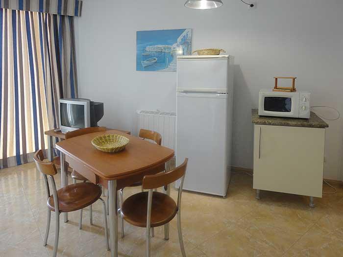 Wohnraum 3 Ferienwohnung Cala Ratjada 2 - 4 Personen PM 545 A