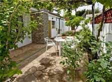Garten Ferienhaus Mallorca mit Pool Cala Ratjada PM 5475