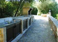 Barbecue Finca Mallorca mit Pool Ferienwohnung 2 - 4 Personen PM 5491