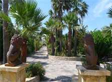Garten 2 Finca Mallorca mit Pool Ferienwohnung 2 - 4 Personen PM 5491