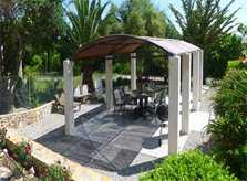 Terrasse am Pool Finca Ferienwohnung Mallorca mit Pool PM 549