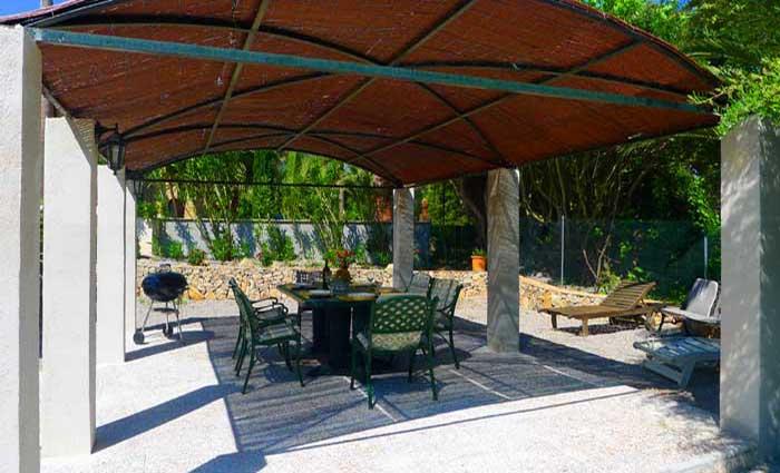 Terrasse am Pool 2 Finca Mallorca mit Pool Ferienwohnung 2 - 4 Personen PM 5491