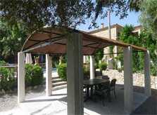 Üppige Gartenanlagen Finca Mallorca mit Pool PM 5491